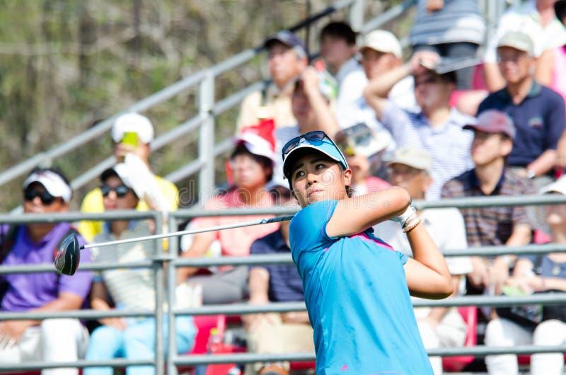 Honda LPGA Таиланд 2014 стоковое изображение rf