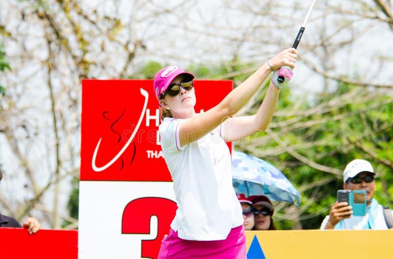 Honda LPGA Tailândia 2014 fotografia de stock