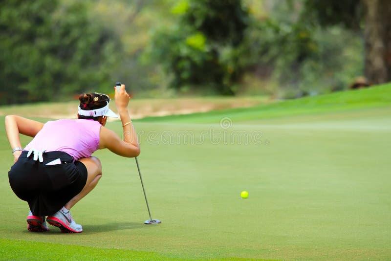 Honda LPGA Tailândia 2015 imagem de stock royalty free