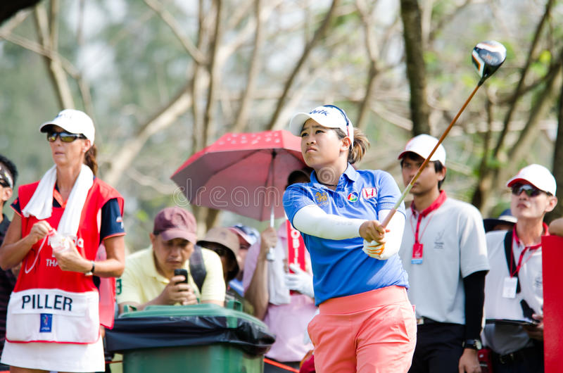 Honda LPGA Tailandia 2014 fotografía de archivo libre de regalías
