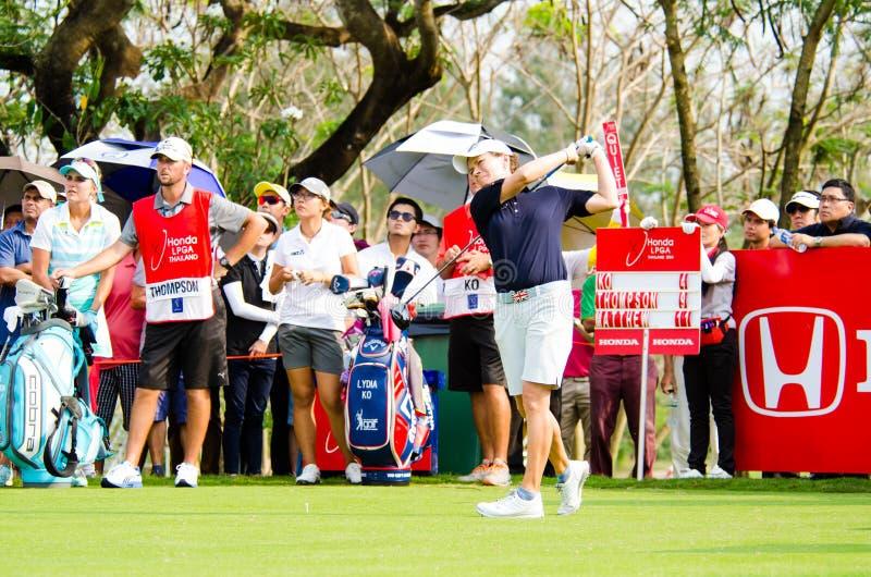 Honda LPGA Tailandia 2014 fotografía de archivo