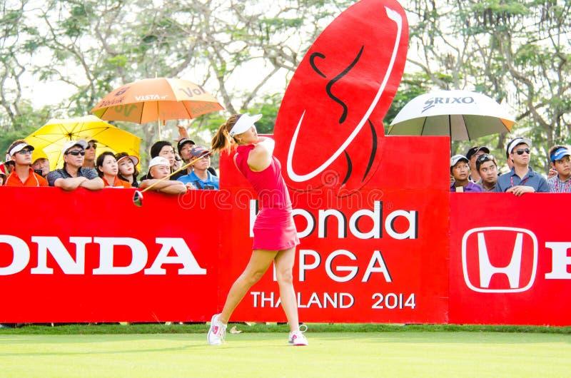 Honda LPGA Tailandia 2014 imagenes de archivo