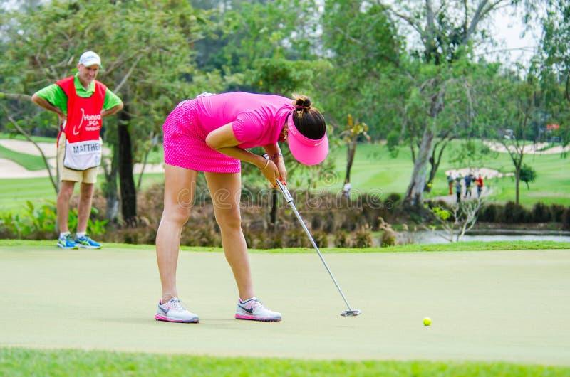Honda LPGA Tailandia 2015 imagen de archivo libre de regalías