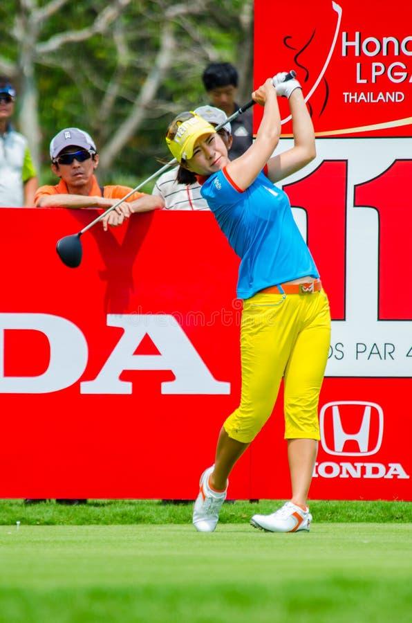 Honda LPGA Tailandia 2015 foto de archivo libre de regalías
