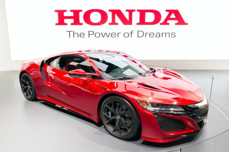 Honda NSX imagen de archivo libre de regalías