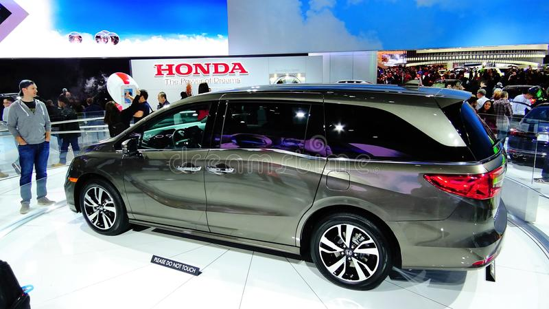 Honda-odyssee royalty-vrije stock afbeeldingen