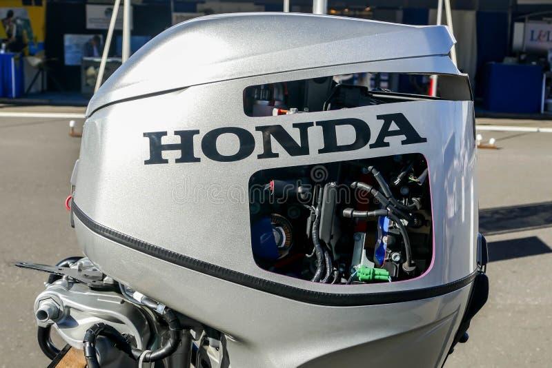 Honda parowozowy eksponat przy Norwalk łódkowatym przedstawieniem 2016 zdjęcie royalty free