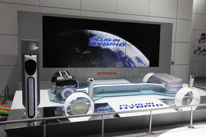 Download Honda Plug-In Hybrid Concept Editorial Photography - Image of exposition, concept: 21299197