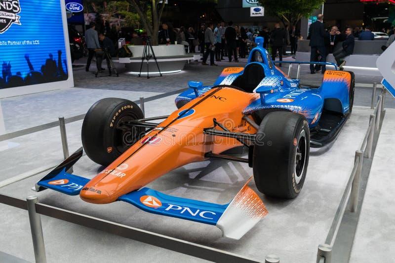 Honda Powered Chip Ganassi Rancing IndyCar stock images