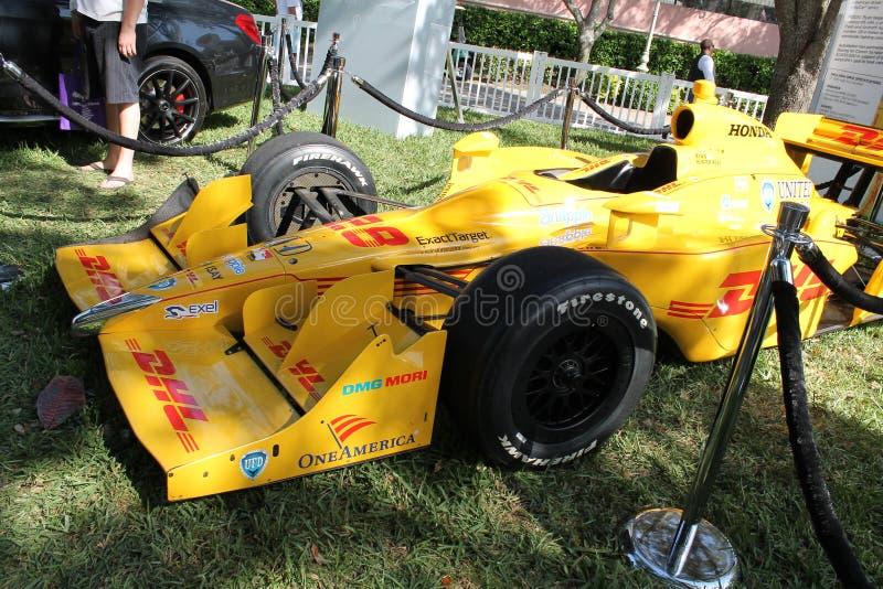 Honda racecar στοκ εικόνα με δικαίωμα ελεύθερης χρήσης