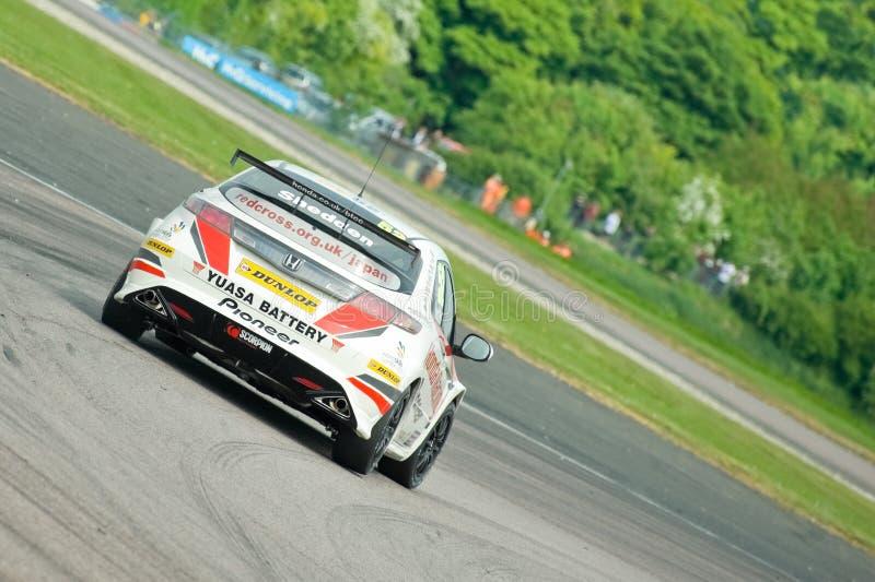 Honda Racing stock photography