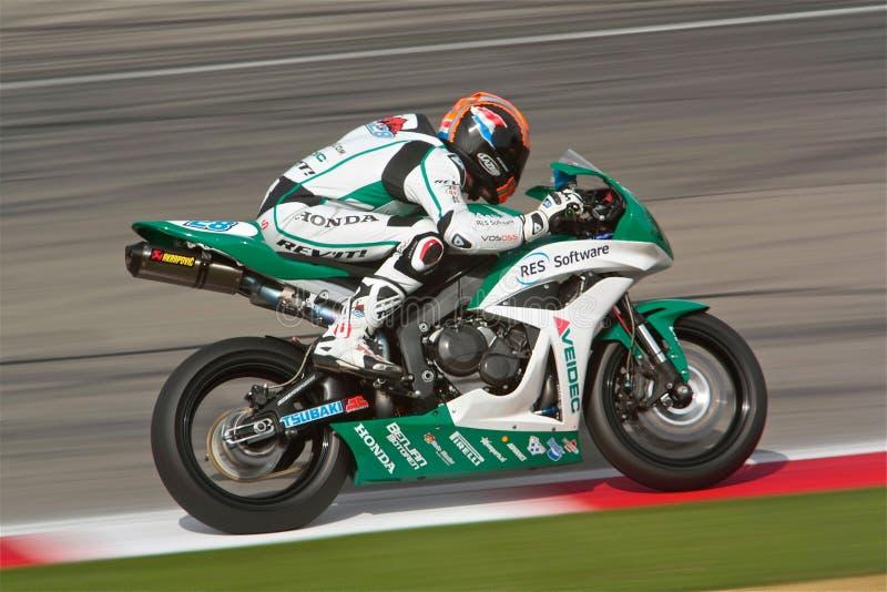 Honda Racing Bike stock photos