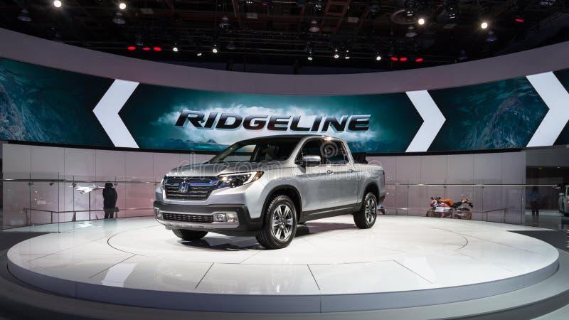 Honda Ridgeline 2016 imagem de stock royalty free
