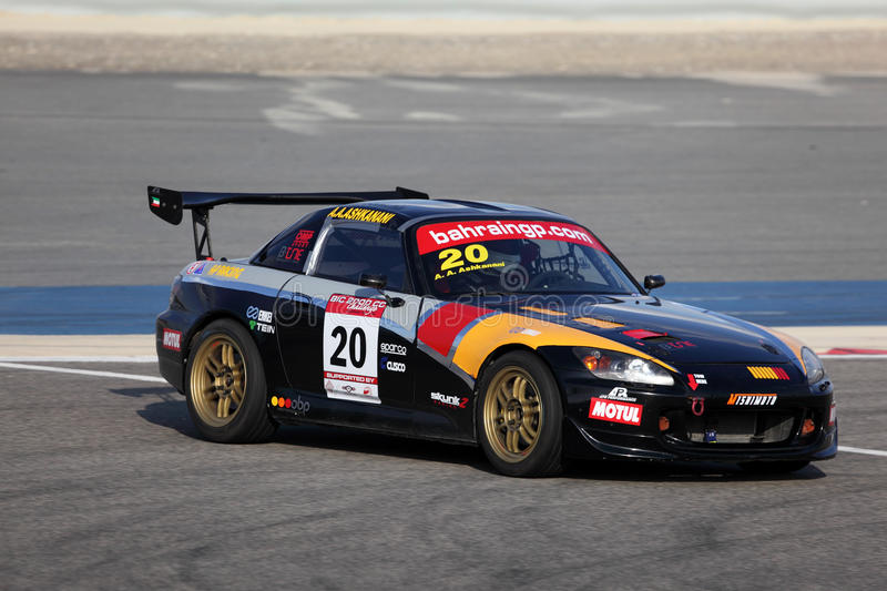 Honda S2000 racing stock photo