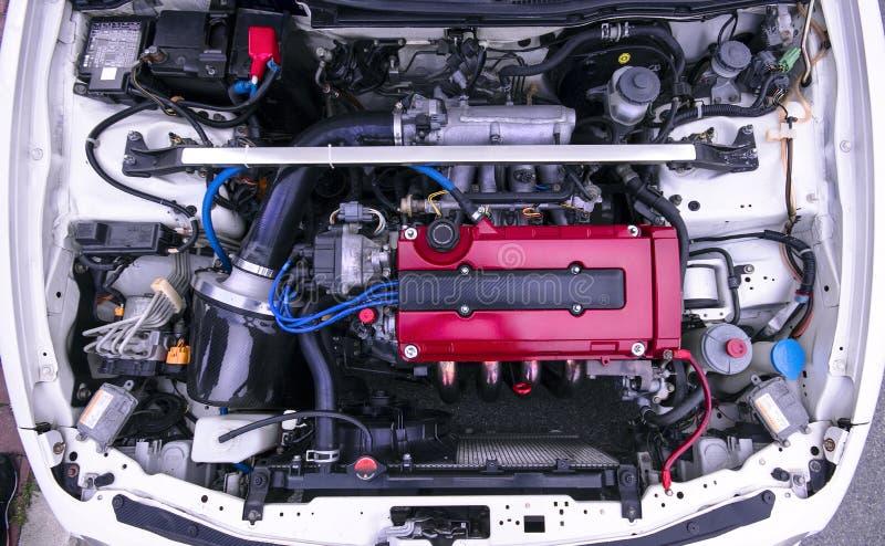 Honda silnik obraz stock