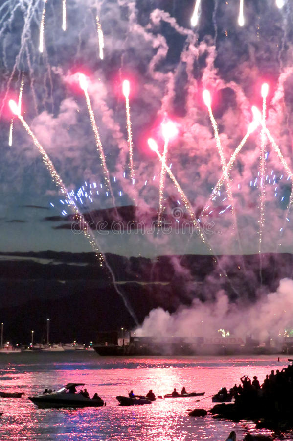 2016 Honda-Viering van Licht in Vancouver, Canada royalty-vrije stock fotografie