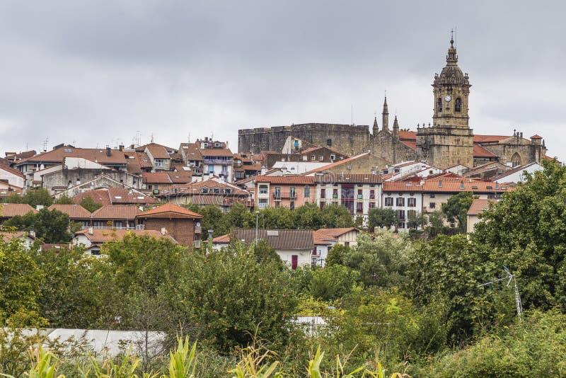 Hondarribia, Baskisch land, Spanje stock foto