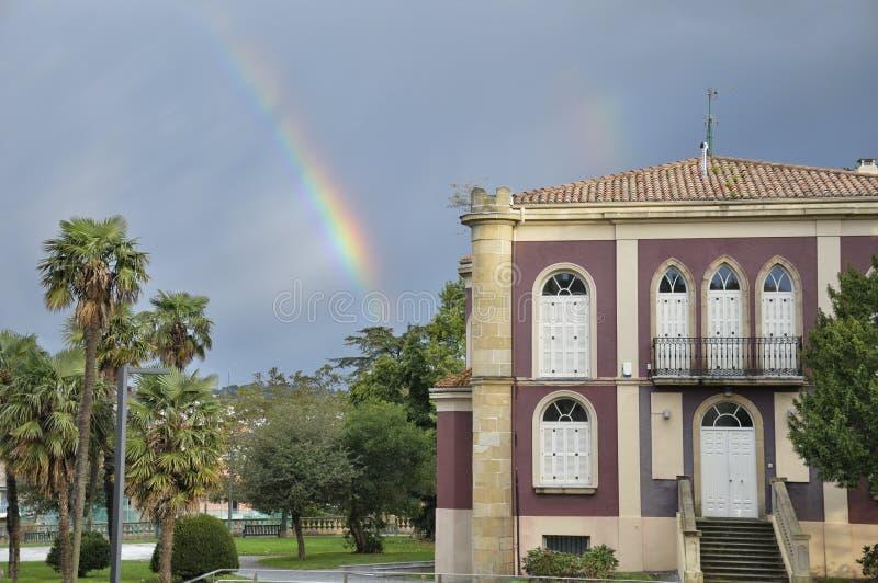Hondarribia, Espanha fotos de stock