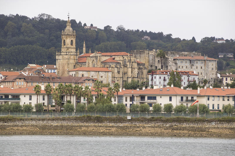 Hondarribia, Espanha fotografia de stock royalty free