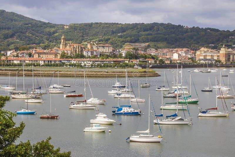 Hondarribia, Espanha foto de stock royalty free