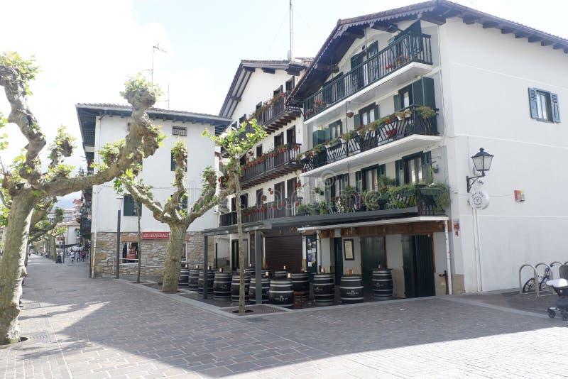 Hondarribia, Espanha, em maio de 2019 imagem de stock royalty free