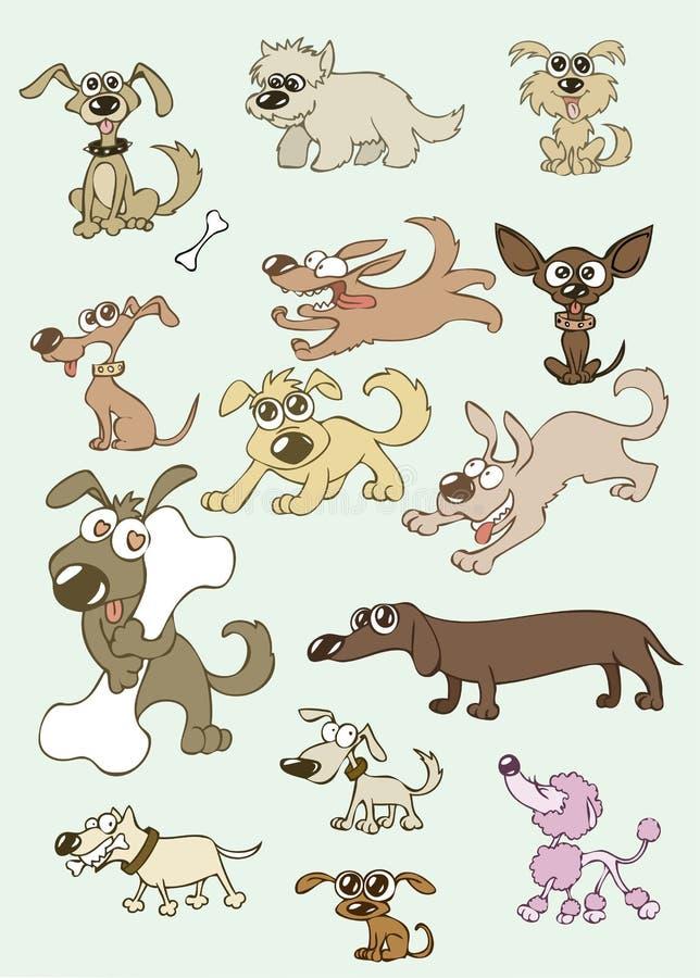 Honden vector illustratie