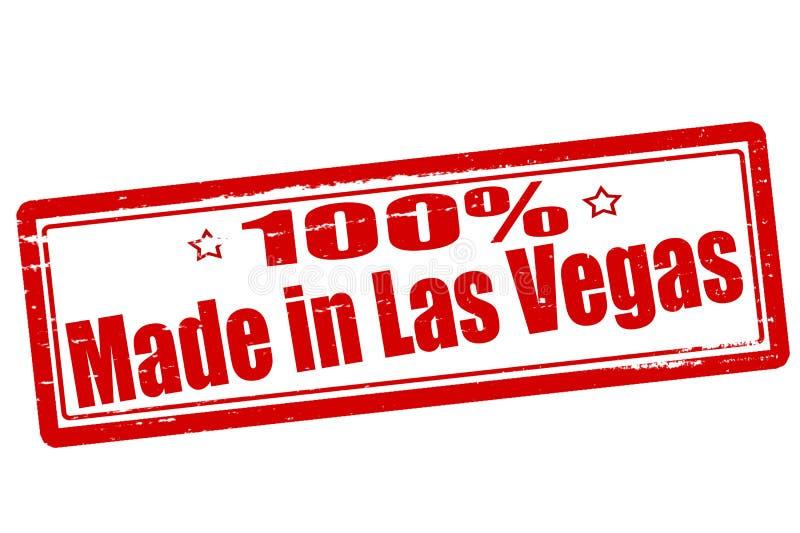 Honderd die percenten in Las Vegas worden gemaakt royalty-vrije illustratie