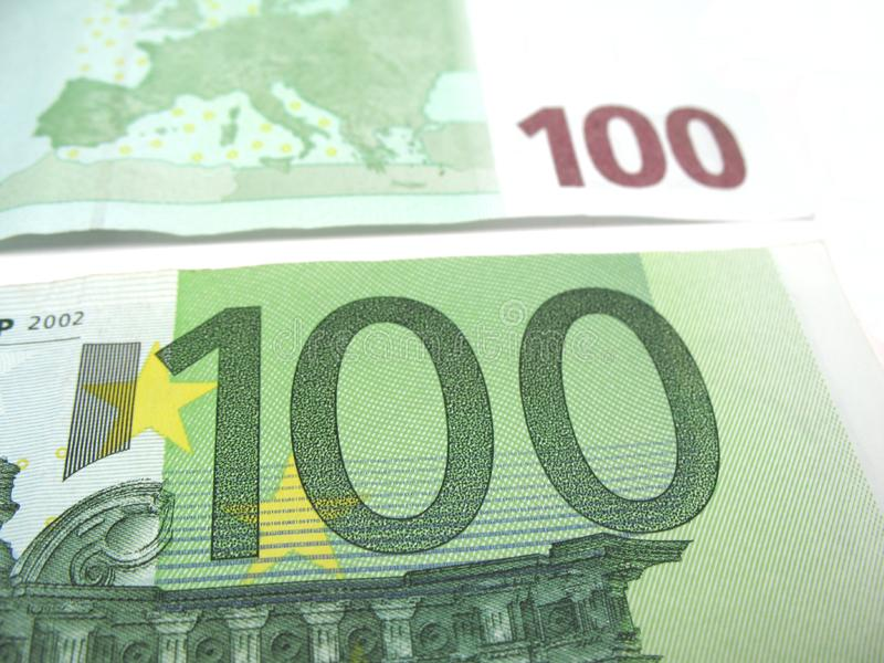 Honderd euro close-up