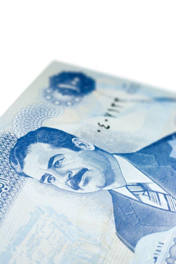 Honderd Iraakse Dinars royalty-vrije stock fotografie