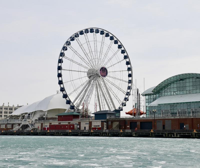 Honderdjarig Ferris Wheel stock afbeeldingen