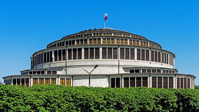 Honderdjarig Hall Hala Stulecia stock fotografie