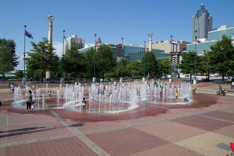 Honderdjarig Olympisch Park stock foto