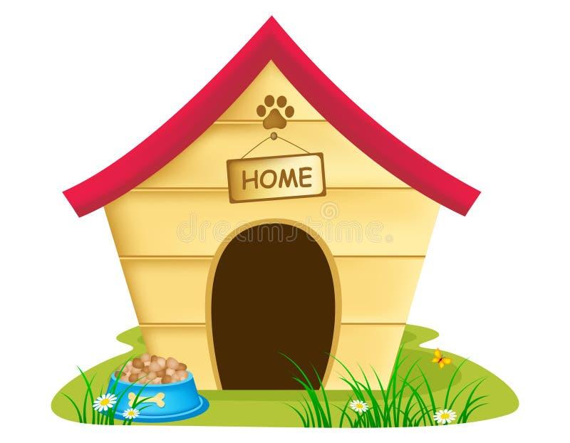 Hondkennel stock illustratie