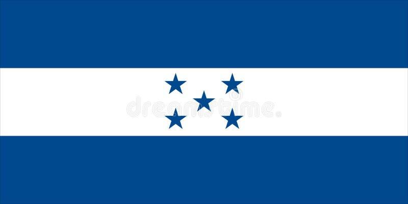 hondura флага бесплатная иллюстрация