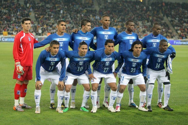 honduran εθνική ομάδα ποδοσφαίρ&om στοκ φωτογραφίες με δικαίωμα ελεύθερης χρήσης