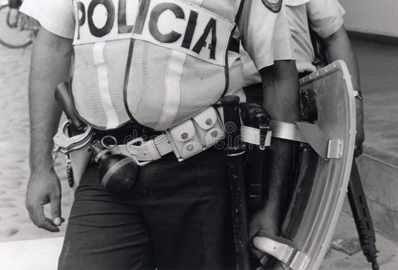 Download Honduran Policeman In Riot Gear Stock Photo - Image: 7405350