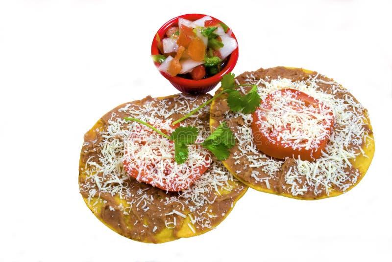 Honduranische catrachitas auf Weiß stockfotos
