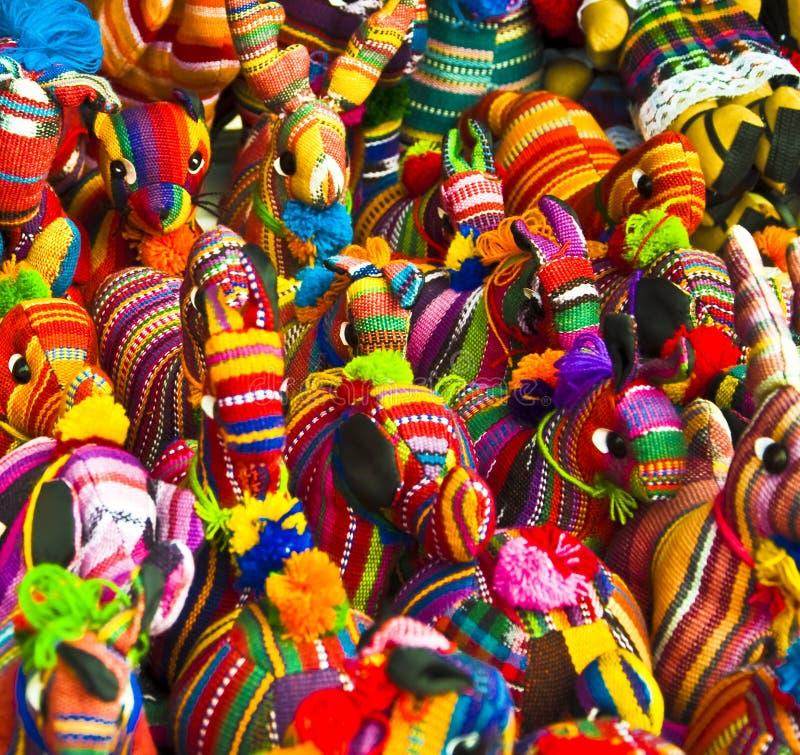Honduranische Spielwaren lizenzfreies stockfoto
