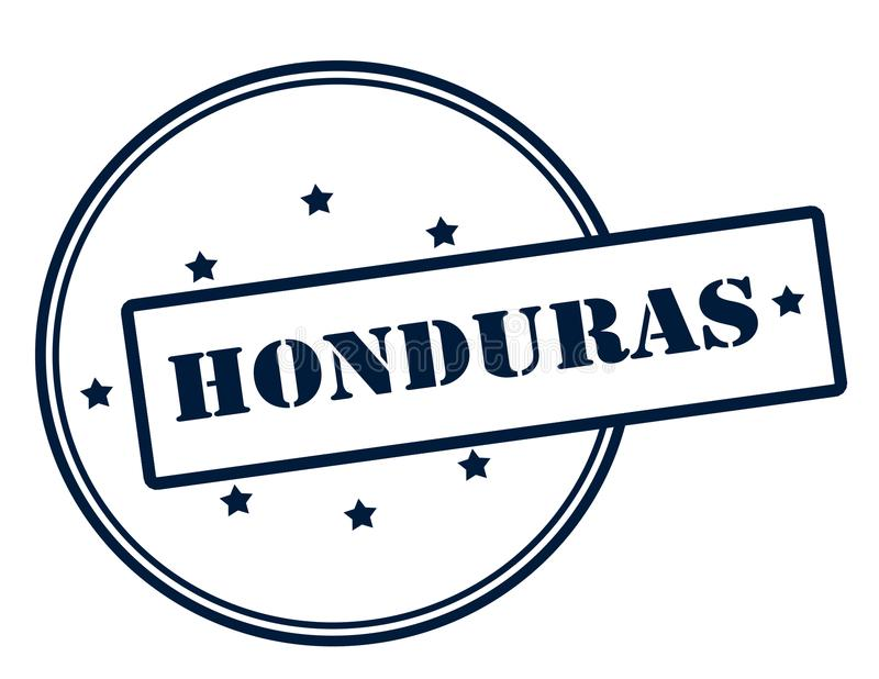honduras illustration stock
