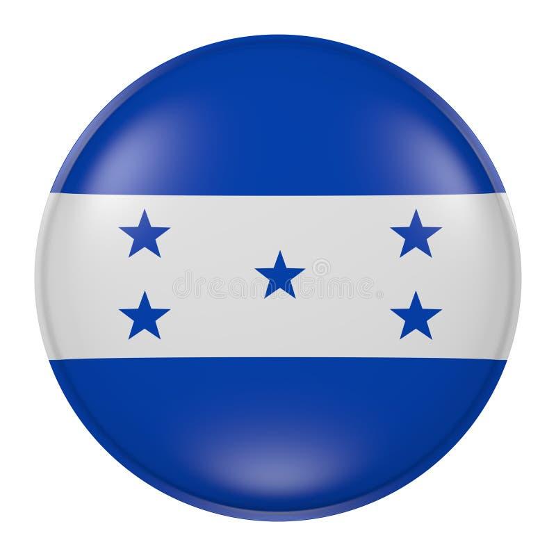 Honduras knapp stock illustrationer