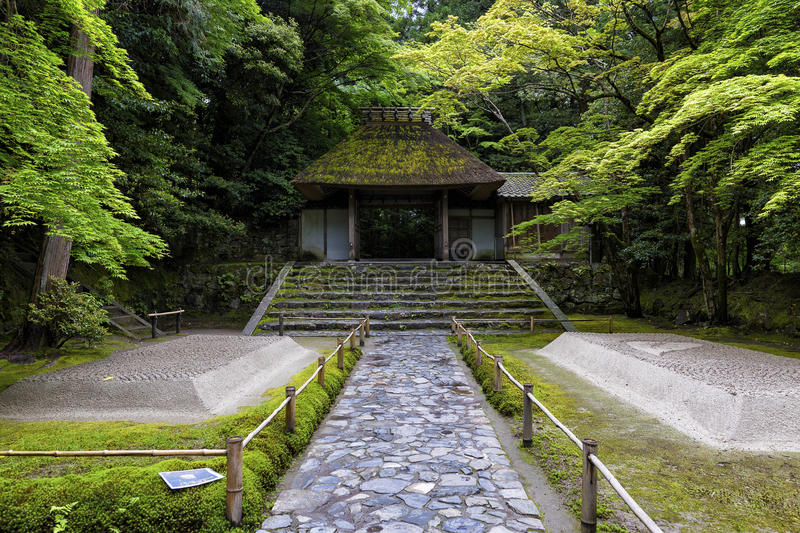 Honen-In, a Buddhist temple located in Kyoto, Japan. Asia stock images