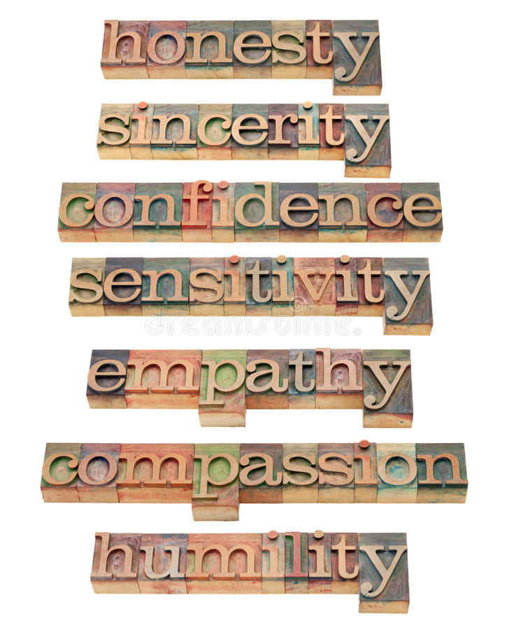 Free Honesty, Empathy, Compassion Royalty Free Stock Photos - 20729308