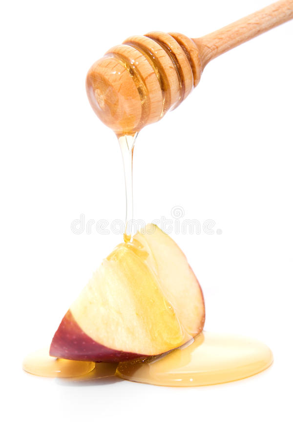 Download Honey and apple stock photo. Image of cook, animal, glass - 11876876