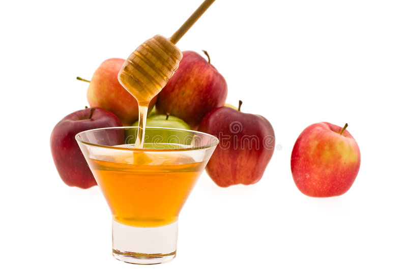 Download Honey And Apple Stock Photography - Image: 5652792