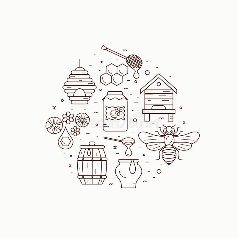 Honey bee house illustration stock vector illustration of healthy download honey bee house illustration stock vector illustration of healthy hive 70454713 ccuart Gallery