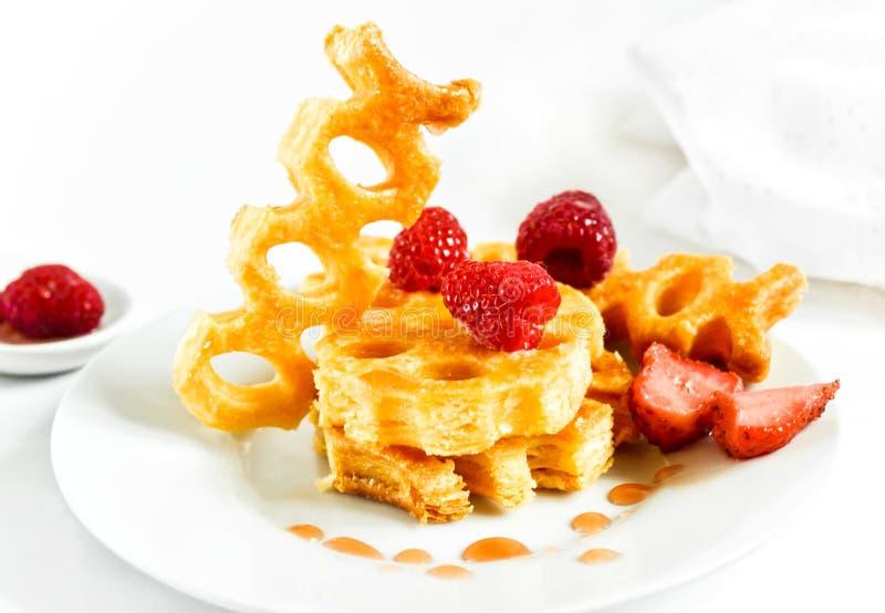 Pastry: honey cakes stock photos