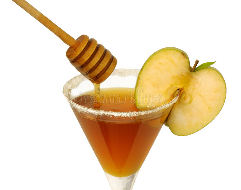 Honey cocktail stock photography