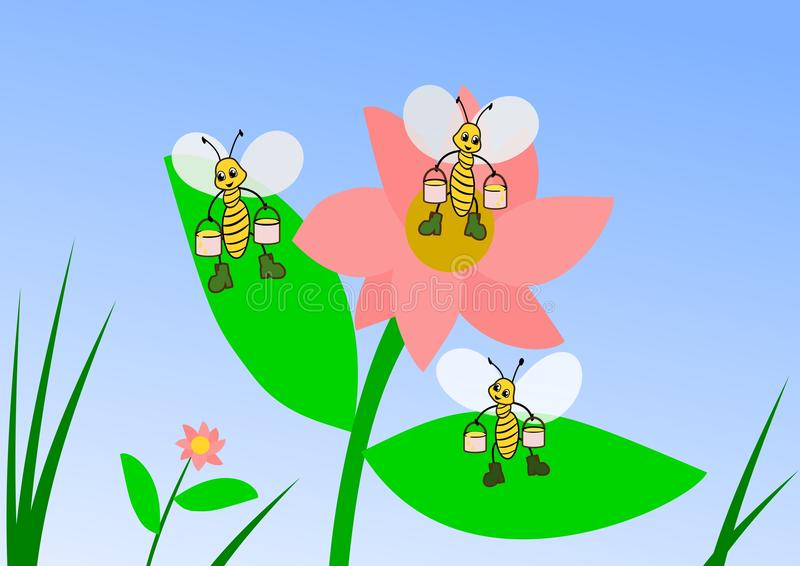 Download Honey Collectors Royalty Free Stock Photo - Image: 21747715