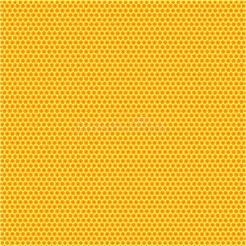 Honey comb background vector illustration