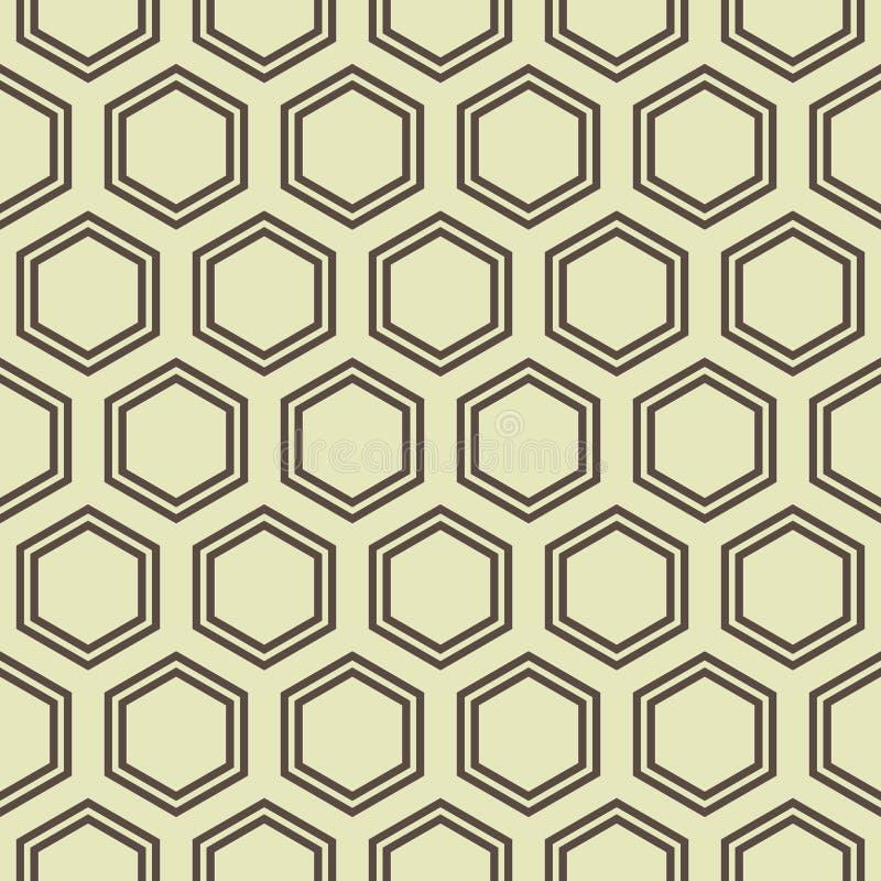 Honey Comb Pattern illustrazione di stock